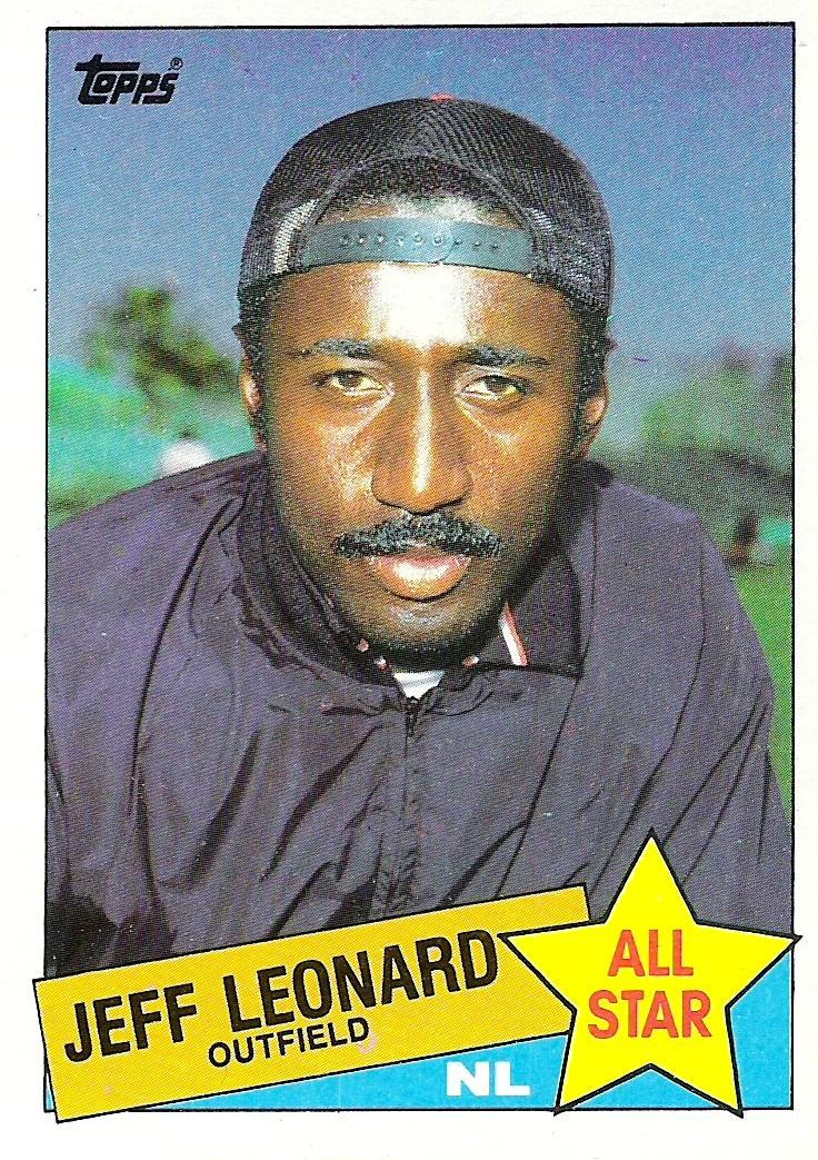 Too Cool for Cardboard – Jeff(rey?) Leonard | Sorting by Teams