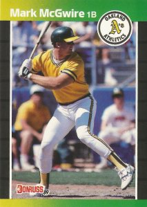 1989 Donruss - Mark McGwire