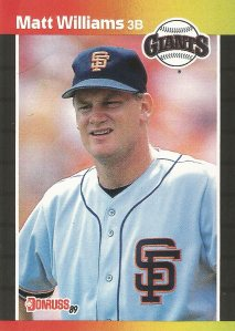 1989 Donruss - Matt Williams