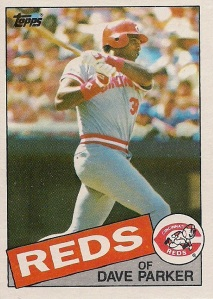 1985 Topps - Dave Parker