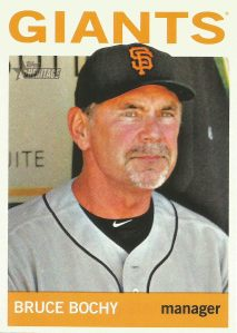 2013 Topps Heritage - Bruce Bochy
