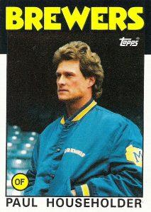 1986 Topps - Paul Householder