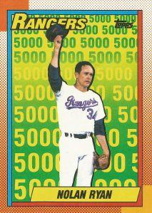 1990 Topps - Nolan Ryan 5000K (Tex)