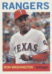 2013 Topps Heritage - Ron Washington