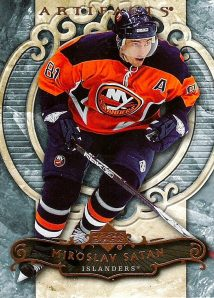 2007-08 Upper Deck Artifacts - Miroslav Satan